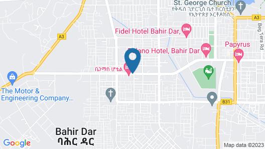 Alwaq Hotel Map