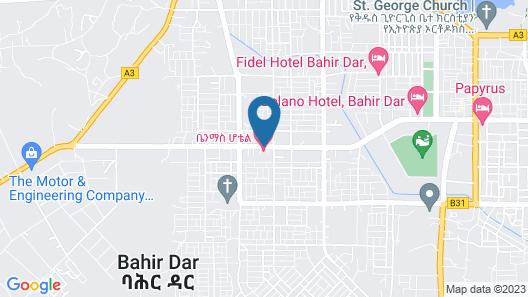 BenMas Hotel Map