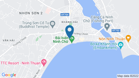 Saigon Ninh Chu Hotel & Resort Map