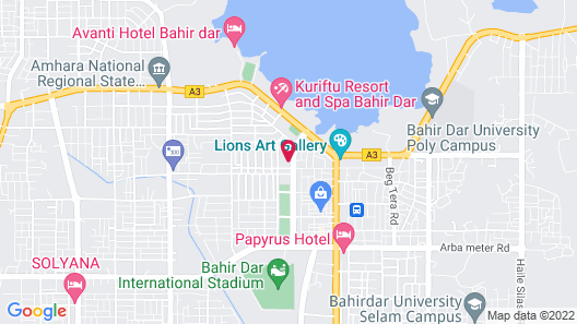 Unison Hotel and Spa Map