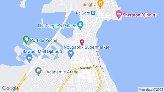 Atlantic Hotel Map