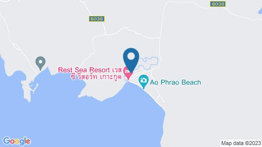 Rest Sea Resort Map