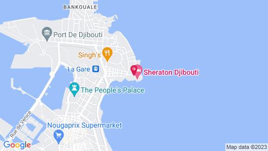 Sheraton Djibouti Map