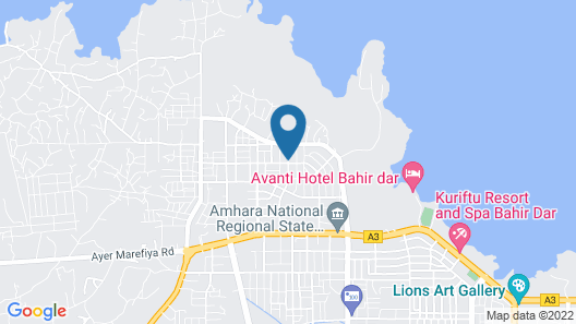 Lake Mark Hotel Map