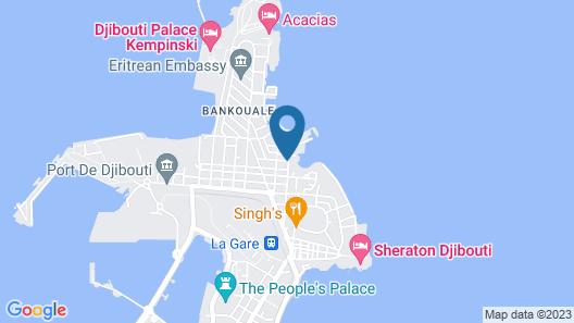 Auberge Le Héron Map