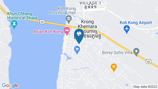 Nathy Kohkong Hotel Map