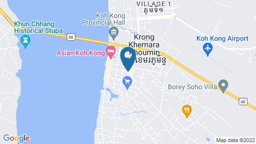 Apex Koh Kong Hotel Map
