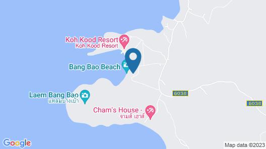 Siam Beach Resort Koh Kood Map