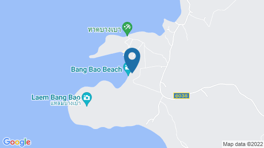 The Beach Natural Resort - Koh Kood Map