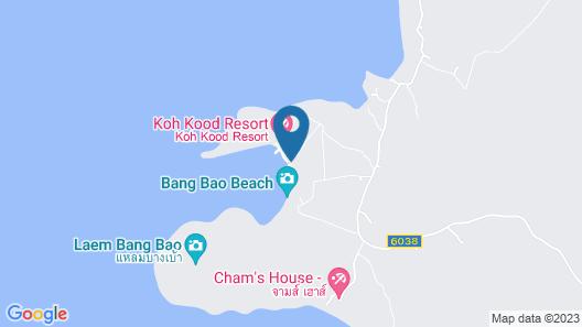 Koh Kood Beach Resort Map