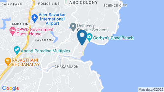 Peerless Resort Port Blair Map