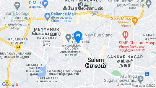 Hotel Juha Regency Map