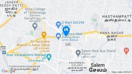 Capital O 41646 Devi Towers Map