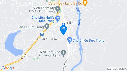 Xuan Mai Villa Map