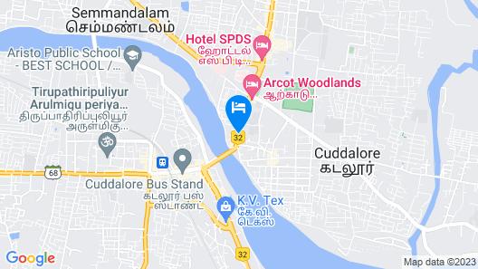 Hotel Theertha Park Map