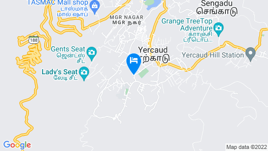 Residenza- Atisaya Home Stay Map