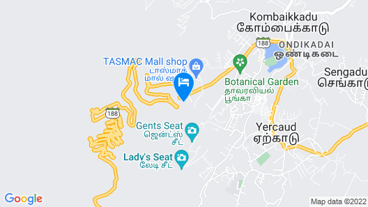 Great trails yercaud by GRT Hotels Map