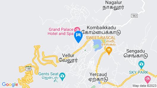 TGI STAR Holidays Yercaud Map