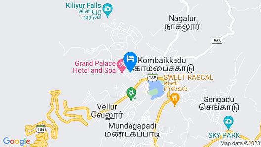 Grand Signature Hotel & Spa Map