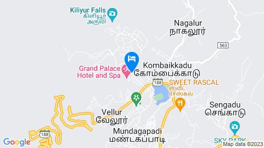 Cliff Resort Map