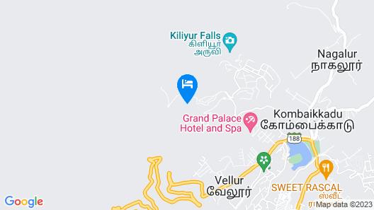OYO 46168 Sky Hotels Map