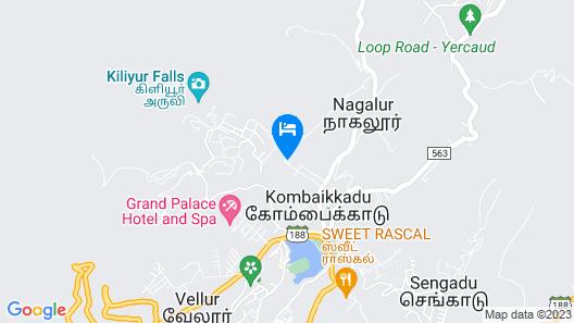 Palette - Escape Kottai Resort Map