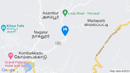 Yercaud Grand Inn Hotels & Resorts Map