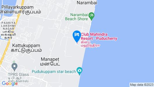 Club Mahindra Puducherry Map