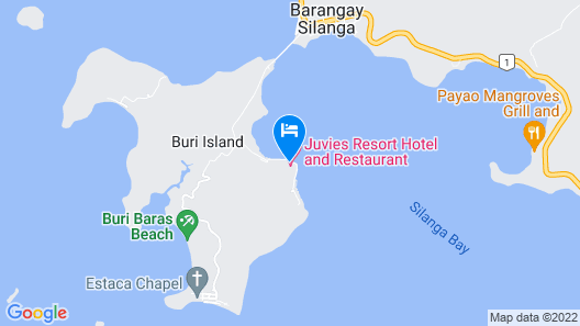 Juvies Resort Hotel and Restaurant Map