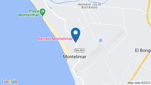 Barceló Montelimar - All Inclusive Map