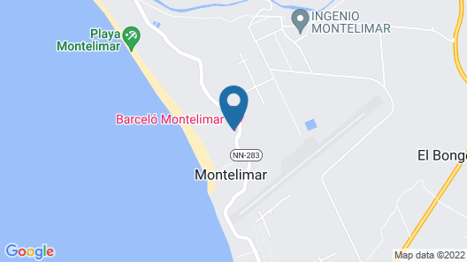 Barceló Montelimar - All Inclusive Map