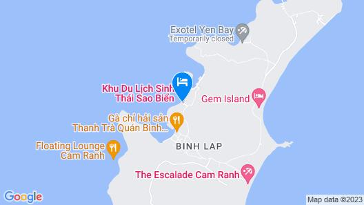 Sao Bien Cam Ranh Map