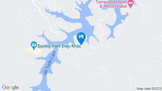 Dalat Edensee Lake Resort & Spa Map