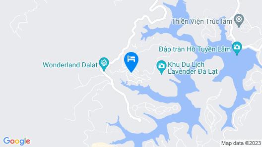 Dalat Wonder Resort Map