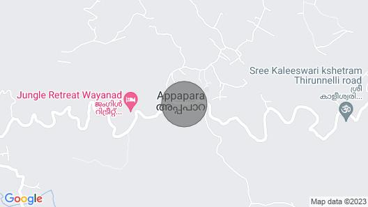 Rustic Charm Wayanad - Interlocked Map