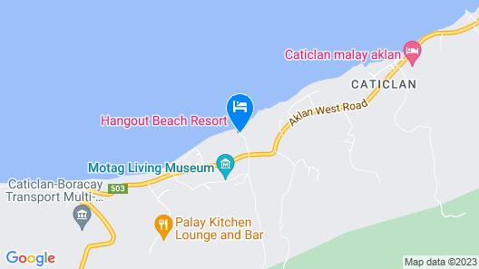HangOut Beach & Resort Map