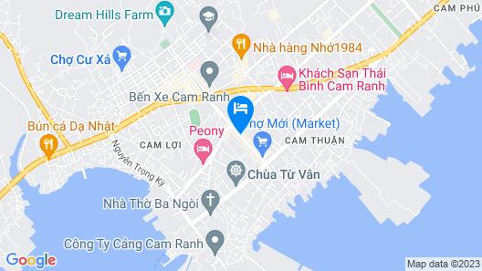 OYO 697 Cam Ranh Hotel 2 Map