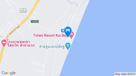 Cross Kui Buri Tolani Map
