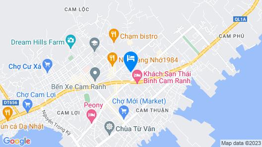 Hai Phat Hotel Map
