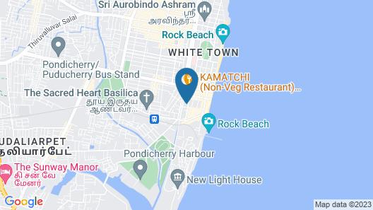 A La Villa Creole  Map