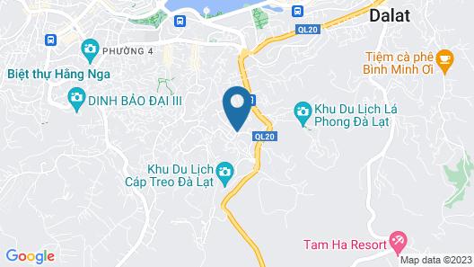 Bazan Hotel Dalat Map