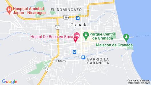 Hotel Real La Merced Map