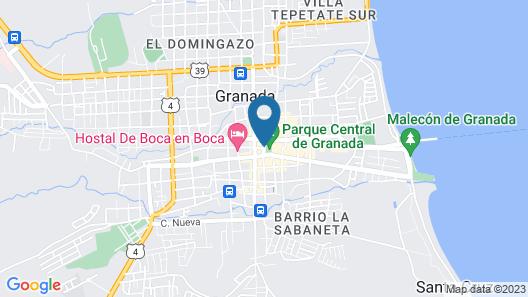 Hotel Plaza Colon Map