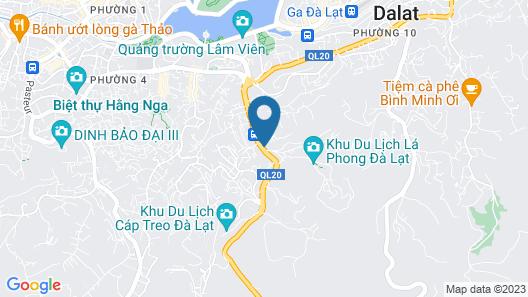The Luxe Hotel Da Lat Map