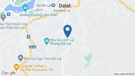 Zen Valley Dalat Map
