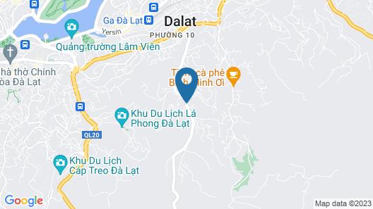 Da Lat Dong Duong Map