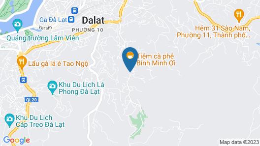 Dalat De Charme Village Map