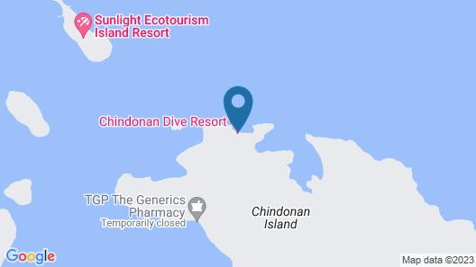 Chindonan Dive Resort Map
