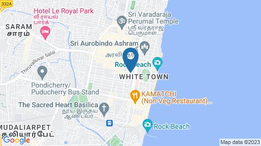 Hotel Coramandal Heritage Map