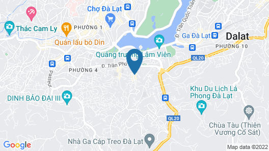 OYO 592 An Nhien Hotel & Cafe Map